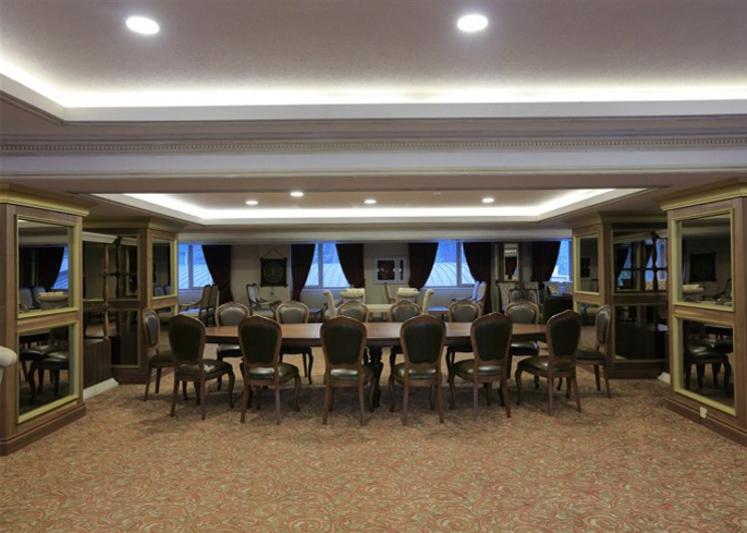 Selvi meeting hall am hotel for Salon equip hotel 2017